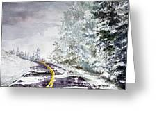 Winter 113015 Greeting Card