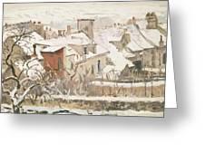 Winter, 1872  Greeting Card