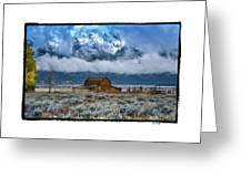 Winter Approaching Greeting Card