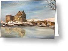 Winter At Eilean Donan Greeting Card