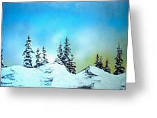 Winter At Lake Tahoe In California Greeting Card