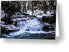 Mill Creek Falls Wv Greeting Card