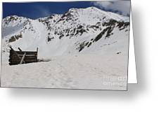 Winter At The Boston Mine 3 Greeting Card