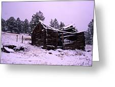 Winter At The Homestead Greeting Card