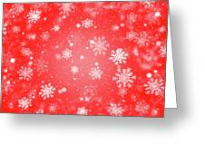Winter Background With Snowflakes. Greeting Card