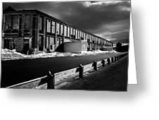 Winter Bates Mill Greeting Card
