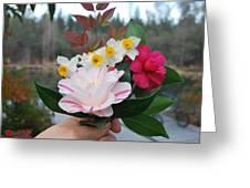 Winter Boquet Greeting Card