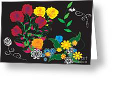 Winter Bouquet Greeting Card