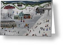Winter Carnival Greeting Card