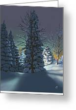 Winter Charm Greeting Card