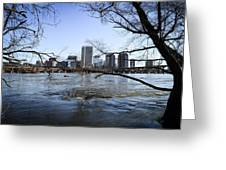 Winter Day At Belle Isle Greeting Card