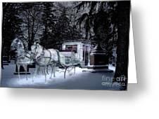 Winter Departure   Greeting Card