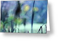 Winter Dreams Abstract Greeting Card