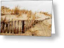 Winter Dune - Jersey Shore Greeting Card