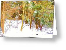 Winter Forest 1 Greeting Card