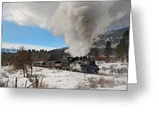 Winter Freight Special Greeting Card