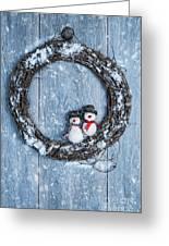 Winter Garland Greeting Card