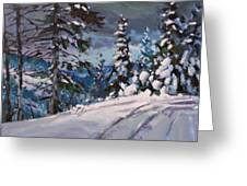 Winter Grays 2 Greeting Card