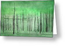 Winter Green  7913green Greeting Card