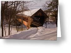 Winter Henniker Greeting Card