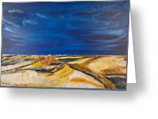 Winter Impression Of Sylt Greeting Card
