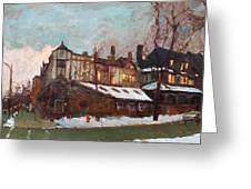 Winter In Buffalo Greeting Card