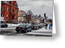 Winter In D.c. Greeting Card by Jimmy Ostgard