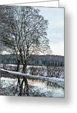 Winter In England, Uk Greeting Card