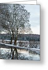 Winter In England, Uk Greeting Card