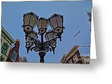 Winter In Gouda-1 Greeting Card