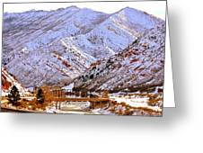 Winter In Grand Junction Greeting Card
