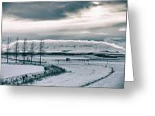 Winter In Iceland Greeting Card