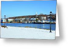 Winter In New Haven Greeting Card