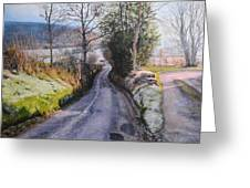 Winter In North Wales Greeting Card