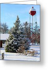Winter In Pequot Lakes Greeting Card