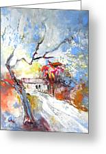 Winter In Spain Greeting Card