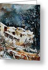 Winter In Vivy  Greeting Card