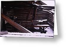 Winter Inside Greeting Card