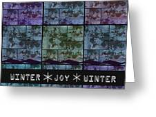 Winter Joy Greeting Card