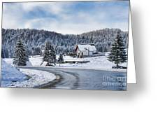 Winter Lands Greeting Card