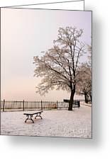 Winter Landscape 1 Greeting Card