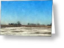 Winter Landscape 3 Greeting Card