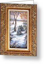 Winter. Greeting Card