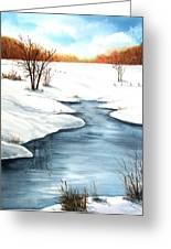 Winter Memories Greeting Card