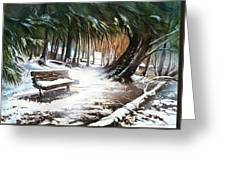 Winter Moments Greeting Card