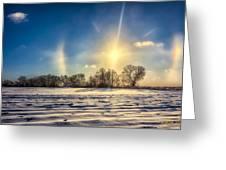 Winter Morn In Minnesota Greeting Card