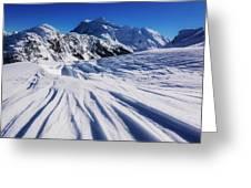 Winter Mount Shuksan Greeting Card
