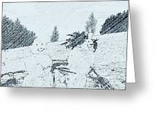 Winter Magic Greeting Card by Pastime Ideas
