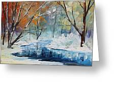 Winter New Greeting Card
