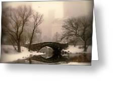 Winter Nostalgia Greeting Card